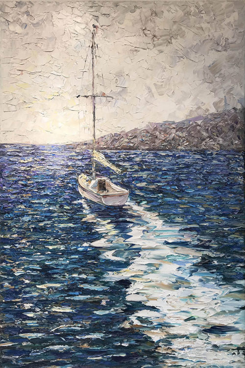 """Summer Sailing"" by Konstantin Savchenko at Art Leaders Gallery, voted ""Michigan's Best Fine Art Gallery"" is located in the heart of West Bloomfield. This full service fine art gallery is the destination for all your art and custom picture framing needs. Our extensive inventory of art includes styles ranging from contemporary to traditional. The gallery represents international, national, and emerging new talent as well as local Michigan artists."