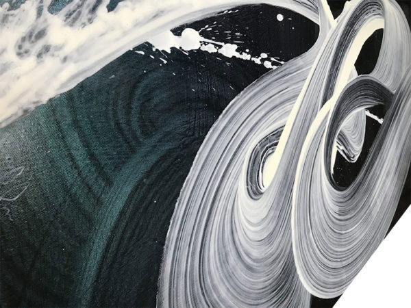 """White Cascade IV by Antonio Velfín at Art Leaders Gallery, voted """"Michigan's Best Fine Art Gallery"""" is located in the heart of West Bloomfield. This full service fine art gallery is the destination for all your art and custom picture framing needs. Our extensive inventory of art includes styles ranging from contemporary to traditional. The gallery represents international, national, and emerging new talent as well as local Michigan artists."""