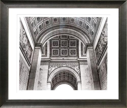 """Arc De Triomphe"" Paris France - Framed"