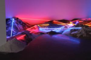 Neon Art Idaho by Laddie John Dill