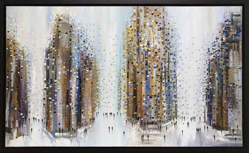 Urban Life by Ekaterina Ermilkina at Art Leaders Gallery - Michigan's Finest Art Gallery