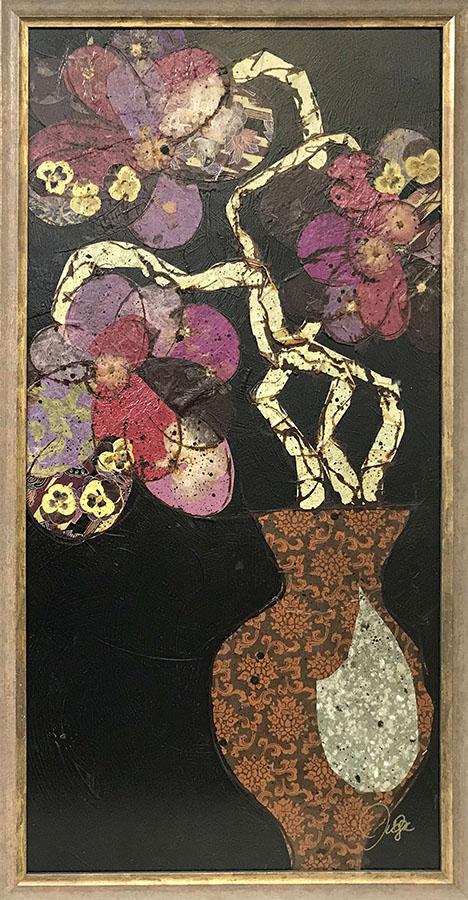 Violet Flowers I