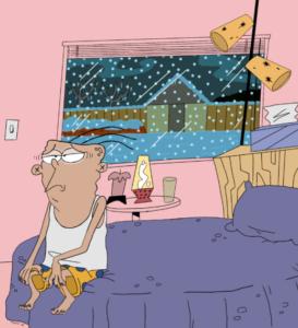 Ed Ed & Eddy Cartoon Seasonal Depression Artwork Art Leaders Gallery