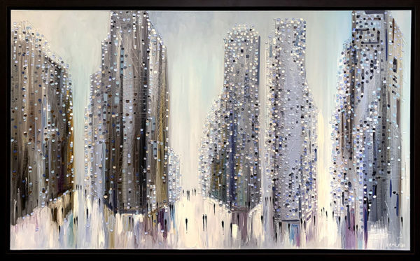 City Mood II by Ekaterina Ermilkina at Art Leaders Gallery - Michigan's Finest Art Gallery