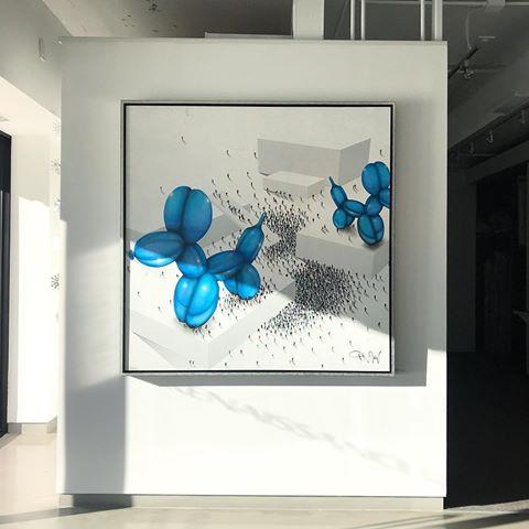 Craig Alan Populus Gallery Installation