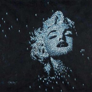 Craig Alan's Populus Series figurative artwork of Marilyn Monroe