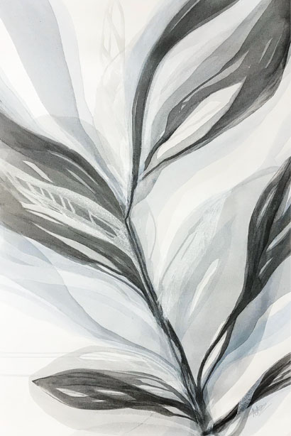 """Silver Palms II by Antonio Molinari at Art Leaders Gallery, voted """"Michigan's Best Fine Art Gallery"""" is located in the heart of West Bloomfield. This full service fine art gallery is the destination for all your art and custom picture framing needs. Our extensive inventory of art includes styles ranging from contemporary to traditional. The gallery represents international, national, and emerging new talent as well as local Michigan artists."""