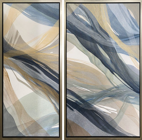 "Willow Breeze I - Diptych by Antonio Molinari at Art Leaders Gallery, voted ""Michigan's Best Fine Art Gallery"" is located in the heart of West Bloomfield. This full service fine art gallery is the destination for all your art and custom picture framing needs. Our extensive inventory of art includes styles ranging from contemporary to traditional. The gallery represents international, national, and emerging new talent as well as local Michigan artists."