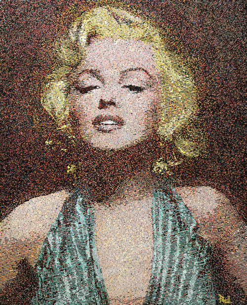 "Marilyn by Richard Powell at Art Leaders Gallery, voted ""Michigan's Best Fine Art Gallery"" is located in the heart of West Bloomfield. This full service fine art gallery is the destination for all your art and custom picture framing needs. Our extensive inventory of art includes styles ranging from contemporary to traditional. The gallery represents international, national and emerging new talent as well as local Michigan artists."