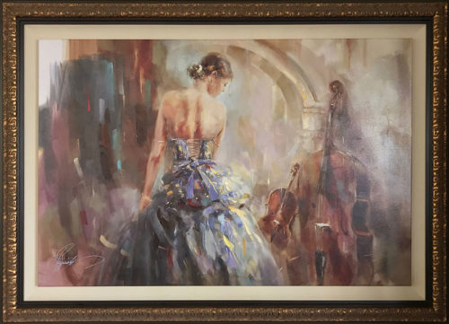"Concerto III by Anna Razumovskaya. Art Leaders Gallery, voted ""Michigan's Best Fine Art Gallery"" is located in the heart of West Bloomfield. This full service fine art gallery is the destination for all your art and custom picture framing needs. Our extensive inventory of art includes styles ranging from contemporary to traditional. The gallery represents international, national, and emerging new talent as well as local Michigan artists."