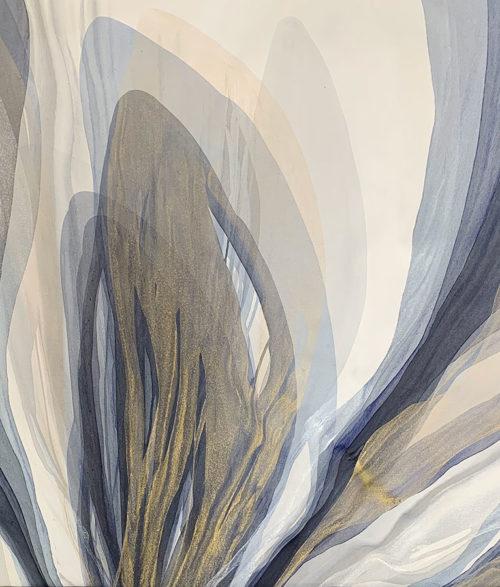 Gilded Echo by Antonio Molinari at Art Leaders Gallery