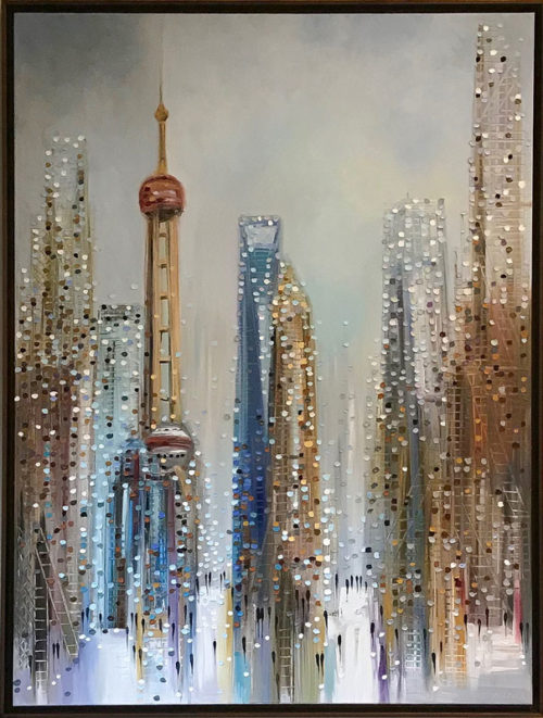 "Shanghai by Ekaterina Ermilkina at Art Leaders Gallery, voted ""Michigan's Best Fine Art Gallery"" is located in the heart of West Bloomfield. This full service fine art gallery is the destination for all your art and custom picture framing needs. Our extensive inventory of art includes styles ranging from contemporary to traditional. The gallery represents international, national and emerging new talent as well as local Michigan artists."