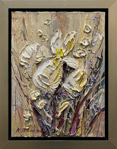 Small Floral Oil Painting