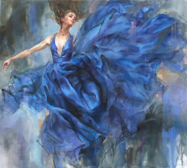 """""""Above the Stars I"""" by Anna Razumovskaya at Art Leaders Gallery, voted """"Michigan's Best Fine Art Gallery"""" is located in the heart of West Bloomfield. This full service fine art gallery is the destination for all your art and custom picture framing needs. Our extensive inventory of art includes styles ranging from contemporary to traditional. The gallery represents international, national and emerging new talent as well as local Michigan artists."""