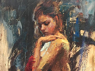 "Adoration by Henry Asencio at Art Leaders Gallery, voted ""Michigan's Best Fine Art Gallery"" is located in the heart of West Bloomfield. This full service fine art gallery is the destination for all your art and custom picture framing needs. Our extensive inventory of art includes styles ranging from contemporary to traditional. The gallery represents international, national, and emerging new talent as well as local Michigan artists."