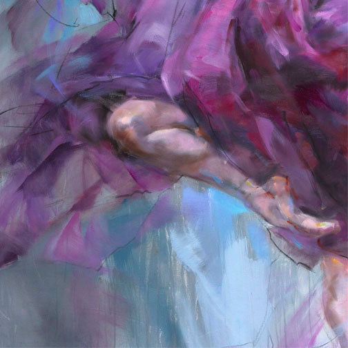 """Alluring"" by Anna Razumovskaya at Art Leaders Gallery, voted ""Michigan's Best Fine Art Gallery"" is located in the heart of West Bloomfield. This full service fine art gallery is the destination for all your art and custom picture framing needs. Our extensive inventory of art includes styles ranging from contemporary to traditional. The gallery represents international, national and emerging new talent as well as local Michigan artists."