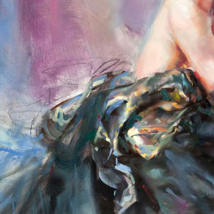 """""""Burlesque II"""" by Anna Razumovskaya at Art Leaders Gallery, voted """"Michigan's Best Fine Art Gallery"""" is located in the heart of West Bloomfield. This full service fine art gallery is the destination for all your art and custom picture framing needs. Our extensive inventory of art includes styles ranging from contemporary to traditional. The gallery represents international, national and emerging new talent as well as local Michigan artists."""
