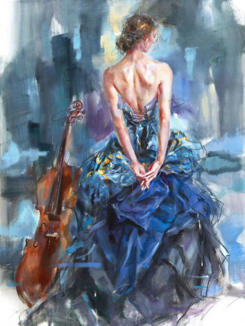 "Connection II by Anna Razumovskaya at Art Leaders Gallery, voted ""Michigan's Best Fine Art Gallery"" is located in the heart of West Bloomfield. This full service fine art gallery is the destination for all your art and custom picture framing needs. Our extensive inventory of art includes styles ranging from contemporary to traditional. The gallery represents international, national and emerging new talent as well as local Michigan artists."