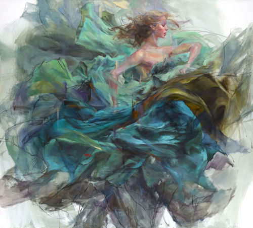 "Emerald Splendor by Anna Razumovskaya at Art Leaders Gallery, voted ""Michigan's Best Fine Art Gallery"" is located in the heart of West Bloomfield. This full service fine art gallery is the destination for all your art and custom picture framing needs. Our extensive inventory of art includes styles ranging from contemporary to traditional. The gallery represents international, national and emerging new talent as well as local Michigan artists."
