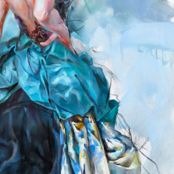 """""""Evocative"""" by Anna Razumovskaya at Art Leaders Gallery, voted """"Michigan's Best Fine Art Gallery"""" is located in the heart of West Bloomfield. This full service fine art gallery is the destination for all your art and custom picture framing needs. Our extensive inventory of art includes styles ranging from contemporary to traditional. The gallery represents international, national and emerging new talent as well as local Michigan artists."""