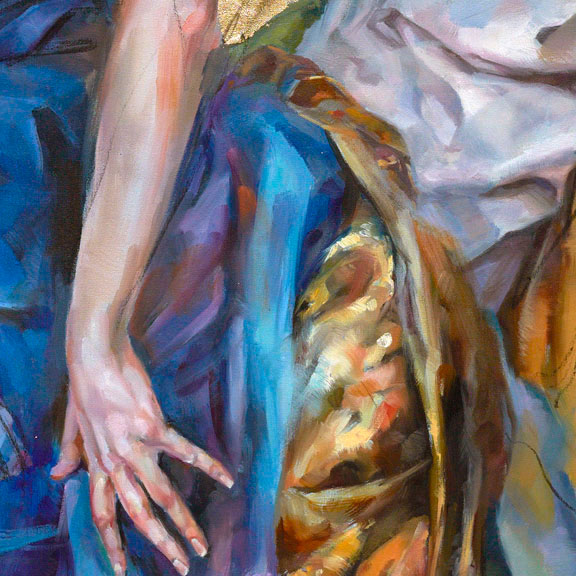 """""""Golden Kingdom"""" by Anna Razumovskaya at Art Leaders Gallery, voted """"Michigan's Best Fine Art Gallery"""" is located in the heart of West Bloomfield. This full service fine art gallery is the destination for all your art and custom picture framing needs. Our extensive inventory of art includes styles ranging from contemporary to traditional. The gallery represents international, national and emerging new talent as well as local Michigan artists."""