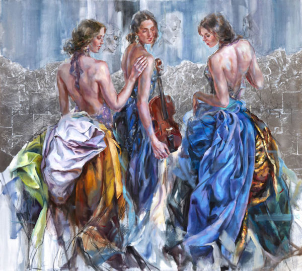 """Magical Island III"" by Anna Razumovskaya at Art Leaders Gallery, voted ""Michigan's Best Fine Art Gallery"" is located in the heart of West Bloomfield. This full service fine art gallery is the destination for all your art and custom picture framing needs. Our extensive inventory of art includes styles ranging from contemporary to traditional. The gallery represents international, national and emerging new talent as well as local Michigan artists."