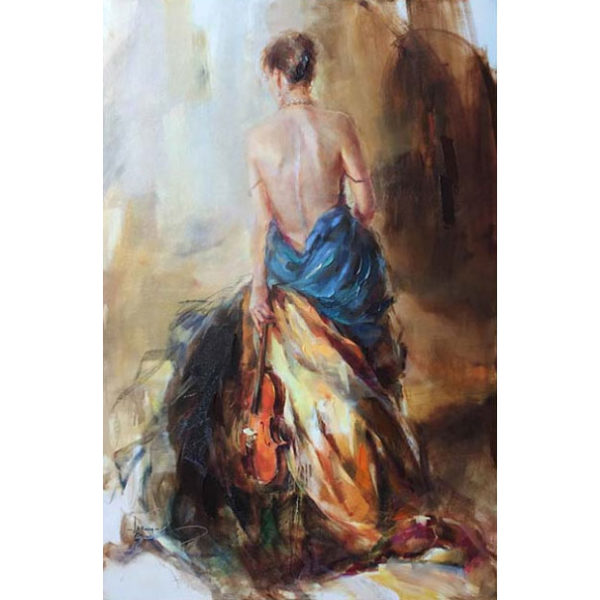 """""""Melody"""" by Anna Razumovskaya at Art Leaders Gallery, voted """"Michigan's Best Fine Art Gallery"""" is located in the heart of West Bloomfield. This full service fine art gallery is the destination for all your art and custom picture framing needs. Our extensive inventory of art includes styles ranging from contemporary to traditional. The gallery represents international, national and emerging new talent as well as local Michigan artists."""