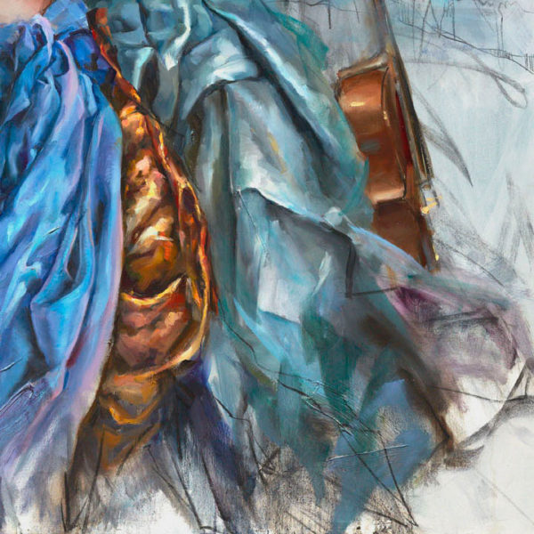 """Sweet Refrain by Anna Razumovskaya at Art Leaders Gallery, voted """"Michigan's Best Fine Art Gallery"""" is located in the heart of West Bloomfield. This full service fine art gallery is the destination for all your art and custom picture framing needs. Our extensive inventory of art includes styles ranging from contemporary to traditional. The gallery represents international, national and emerging new talent as well as local Michigan artists."""