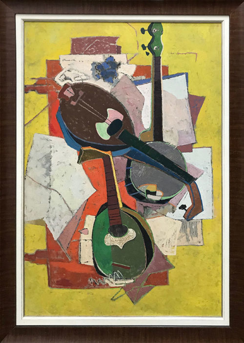 """Trio"" by Harry A. Packman. Art Leaders Gallery, voted ""Michigan's Best Fine Art Gallery"" is located in the heart of West Bloomfield. This full service fine art gallery is the destination for all your art and custom picture framing needs. Our extensive inventory of art includes styles ranging from contemporary to traditional. The gallery represents international, national, and emerging new talent as well as local Michigan artists."