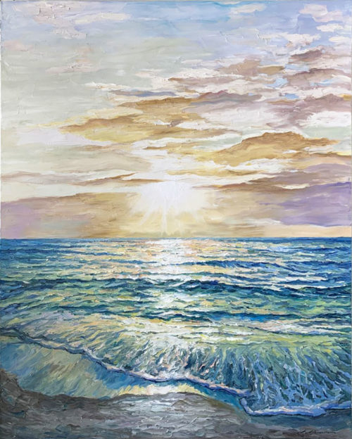 """A New Day"" by Andrii Afanasiev Art Leaders Gallery, voted ""Michigan's Best Fine Art Gallery"" is located in the heart of West Bloomfield. This full service fine art gallery is the destination for all your art and custom picture framing needs. Our extensive inventory of art includes styles ranging from contemporary to traditional. The gallery represents international, national and emerging new talent as well as local Michigan artists."