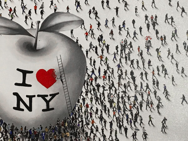 New York Groove by Craig Alan. I love new york shirt and the big apple. Populus series.