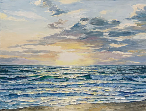 """Peaceful Tides"" by Andrii Afanasiev Art Leaders Gallery, voted ""Michigan's Best Fine Art Gallery"" is located in the heart of West Bloomfield. This full service fine art gallery is the destination for all your art and custom picture framing needs. Our extensive inventory of art includes styles ranging from contemporary to traditional. The gallery represents international, national and emerging new talent as well as local Michigan artists."