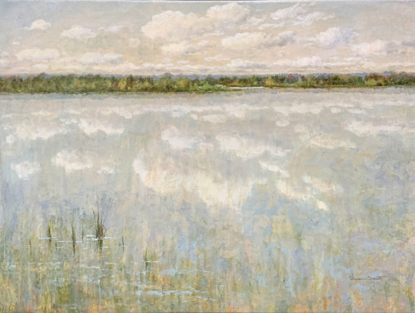 """A Peaceful Day II"" by R. Scott at Art Leaders Gallery, voted ""Michigan's Best Fine Art Gallery"" is located in the heart of West Bloomfield. This full service fine art gallery is the destination for all your art and custom picture framing needs. Our extensive inventory of art includes styles ranging from contemporary to traditional. The gallery represents international, national, and emerging new talent as well as local Michigan artists."