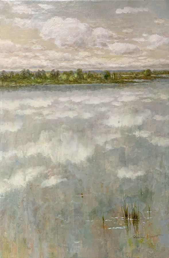 """""""A Peaceful Day IV"""" by R. Scott at Art Leaders Gallery, voted """"Michigan's Best Fine Art Gallery"""" is located in the heart of West Bloomfield. This full service fine art gallery is the destination for all your art and custom picture framing needs. Our extensive inventory of art includes styles ranging from contemporary to traditional. The gallery represents international, national, and emerging new talent as well as local Michigan artists."""