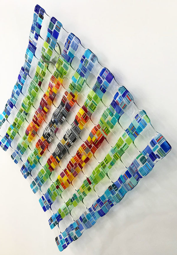 """""""Retro Mesh"""" Series 2 - Rainbow 