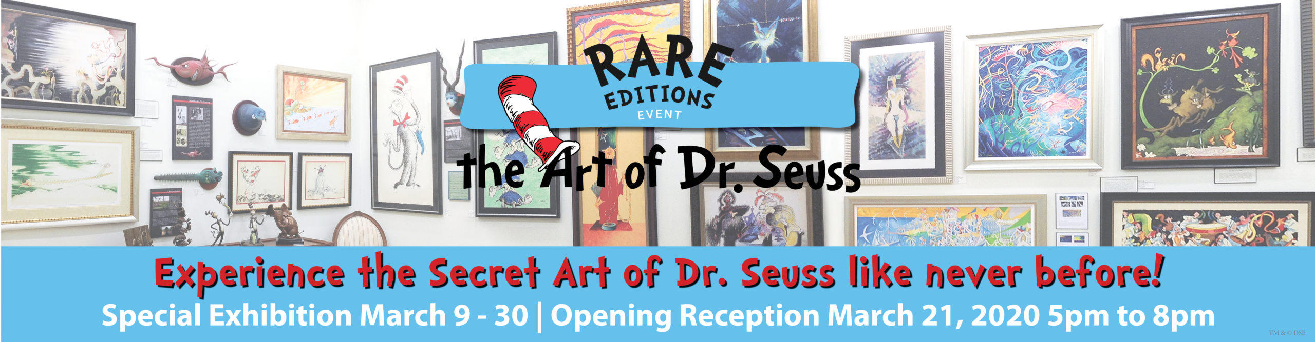 "Dr. Seuss Rare Editions Event at Art Leaders Gallery, voted ""Michigan's Best Fine Art Gallery"" is located in the heart of West Bloomfield. This full service fine art gallery is the destination for all your art and custom picture framing needs. Our extensive inventory of art includes styles ranging from contemporary to traditional. The gallery represents international, national, and emerging new talent as well as local Michigan artists."