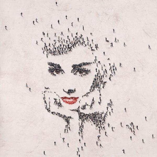 Audrey at Tiffany's, Craig Alan Populus portrait