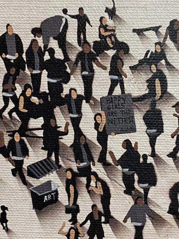Pop Culture Icon Audrey hepburn painting