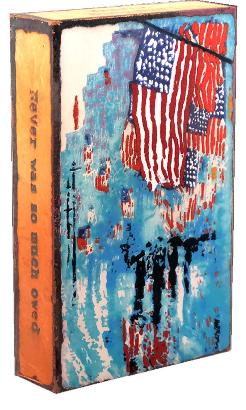 "American Flag Limited Edition Spiritile 251 ""American Heroes"". Available until Labor Day 2020. Procceds will be donated to The Gary Sinise Foundaiton."