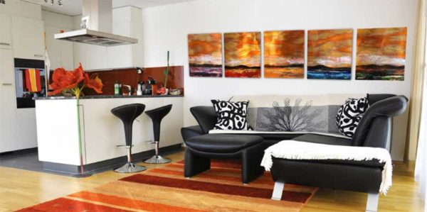 Large Copper Wall Sculptures