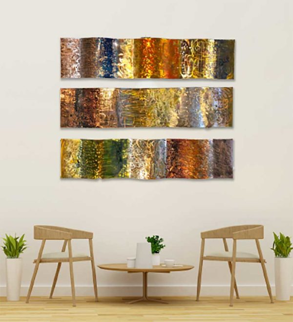 Copper Wall Sculptures
