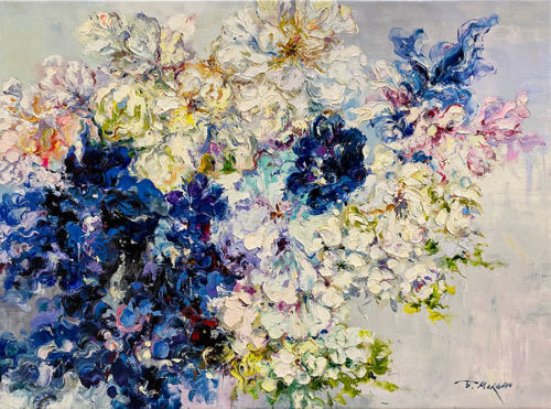 Collection of Florals Oil Painting