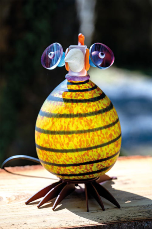 Glass Bird Lamp as Bono