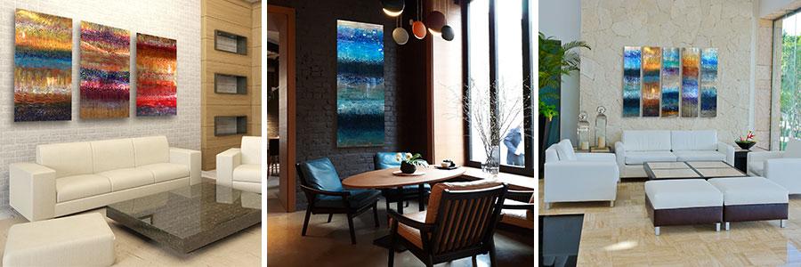 Ken Rausch Bending Series in Interiors