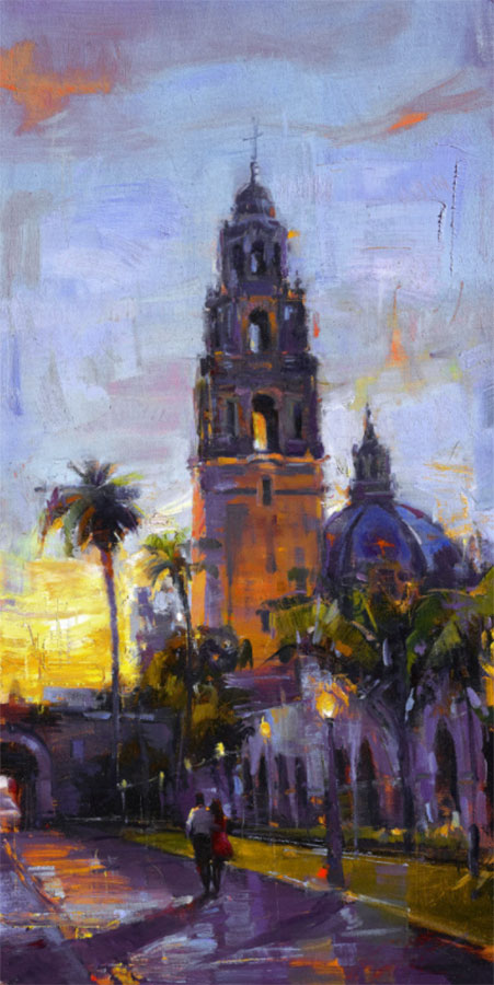 Painting of Church Tower