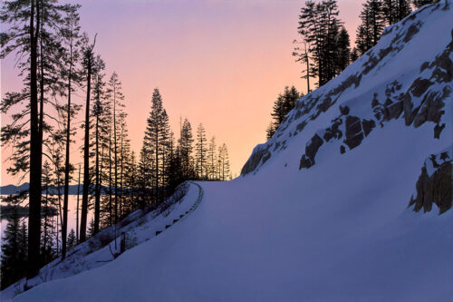 Winter Snow Mountain Slope