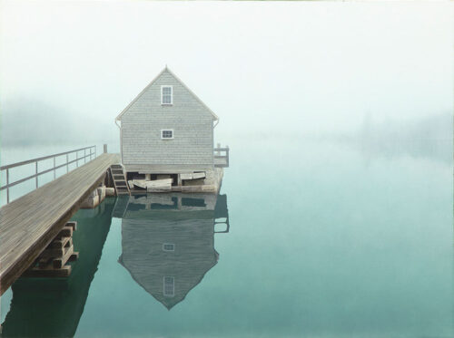 Foggy Lake House