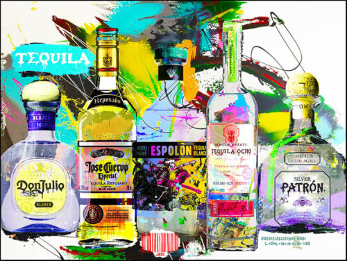 Abstract, Contemporary Liquor Paintings