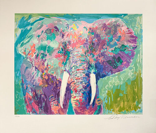 Abstract, Contemporary Elephant