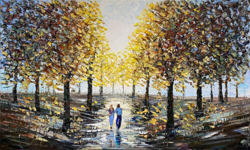 Texture Landscape Painting